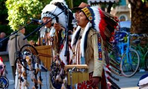 parade amérindienne