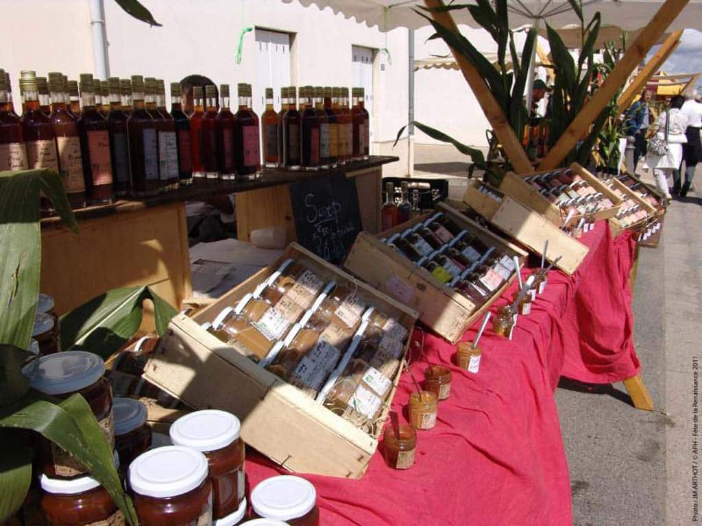 stand marché