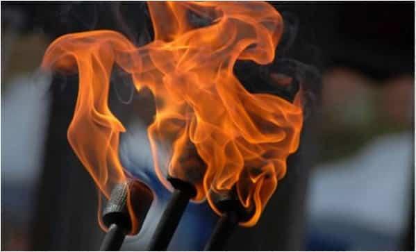 Spectacle de feu