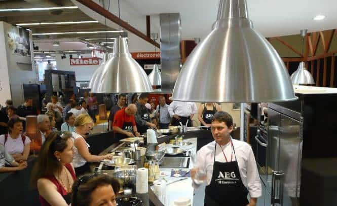D monstration culinaire sur le point de vente for Atelier de cuisine luxembourg